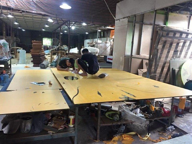Xưởng đóng đồ nội thất gỗ