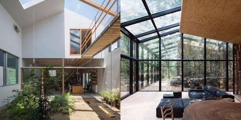Mẫu thiết kế xóa bỏ danh giới giữa ngoại thất và nội thất