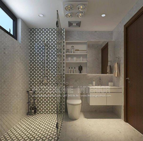 Đá ốp phòng tắm - đá ốp tủ lavabo nhân tạo LG