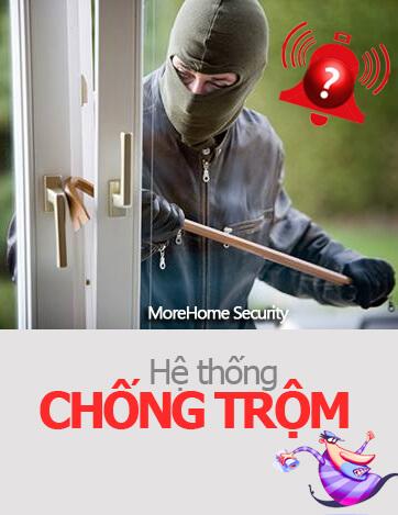 He thong chong trom, thiet bi chong trom