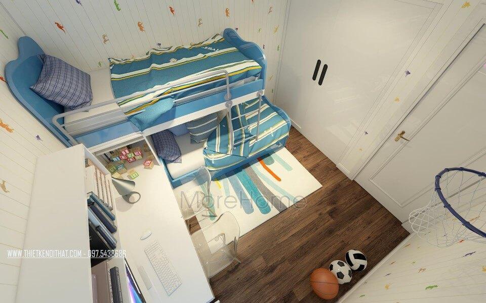 Giường tầng gỗ công nghiêp